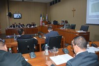 A segurança pública nos bairros da sede e dos distritos dominou os debates da 97ª Sessão Ordinária da Câmara Municipal