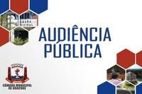 Audiência Pública.