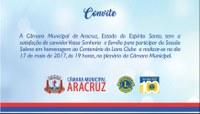 Câmara de Aracruz fará Sessão Solene em comemoração ao centenário do Lions Clube