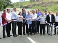Câmara de Vereadores participa da inauguração da reabilitação da ES 257