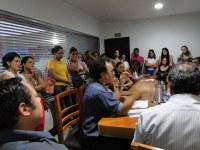 Comissão de Constituição e Justiça recebe candidatos do Processo Seletivo de Auxiliar de Serviços Gerais