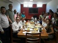Integração e acolhimento marcam café da manhã com novo Presidente na Câmara de Aracruz