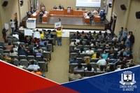 Munícipes lotam Câmara de Aracruz durante a 110ª Sessão Ordinária