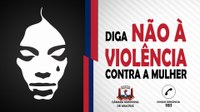 NÃO A VIOLÊNCIA.